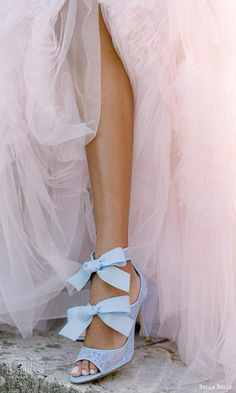 bella belle spring 2021 bridal shoes ankle bow strap peep top high heel pump shoes (11) mv -- Bella Belle Spring 2021 Bridal Shoes | Wedding Inspirasi #wedding #weddings #bridal #weddingideas #collection:Metamorphosis #label:BellaBelle #season:Spring/Summer #week:112021 #year:2021 ~ High Heel Pumps, Pump Shoes, Ballet Shoes, Dance Shoes, Bridal Heels, Bowie, Spring Summer, Ankle, Wedding Dresses
