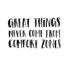 Leap away from that comfort zone! #QuoteOfTheDay #comfortzone #takerisks #bedifferent #ConsciousNChic