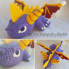 Finished up another Spyro the Dragon! I used to love playing the games when i was younger Order your crocheted friend today: www.etsy.com/au/shop/CrochetedbyBekk #spyro #CrochetedbyBekk #spyrothedragon #dragons #Wip #nerd #Amigurumi #Crochet #CrochetersOfInstagram #gameofthrones #Commission #NeedleFelting #FiberArt #Yarn #colourful #NerdStuff #PhotoOfTheDay #CrochetPattern #Kawaii #Chibi #Plush #CustomCrochet #InstaNerds #FanArt #Gaming #Handmade #Love #Crafts #Anime #Etsy