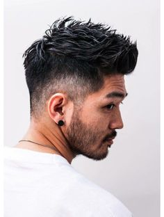 Do you have curly locks that leave you frustrated sometimes when trying to figure out the best cut? Mens Hairstyles With Beard, Quiff Hairstyles, Cool Hairstyles For Men, Haircuts For Men, Asian Man Haircut, Asian Men Hairstyle, Asian Short Hair, Asian Hair, Gents Hair Style