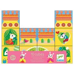Set of 10 playfully illustrated stacking blocks with animal princes and princesses The blocks can be stacked to create 4 different castles Each block measures by by inches Recommended for age 3 years and older Princess Castle, Prince And Princess, Cubes, Stacking Blocks, Couples Coupons, Free Deals, Summer Tshirts, Kids Rugs, Create