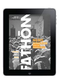 Fathom E-magazine by Anais LESAGE, via Behance