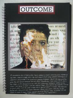 AS Photography, A3 Black Sketchbook, Outcome, ESA Theme Relationships, Thomas…