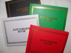 Autograph books. At the end of the school year your friends and teachers would sign on a page. We often wrote goofy poems or sayings in them.