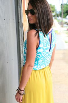 Summer in Color Maxi
