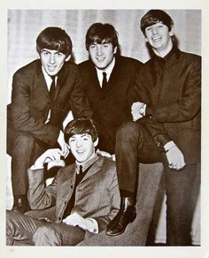The Beatles. This has got to be around '63 - looking at the way we're dressed, we'd started making a few dollars.