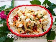 Potato Salad, Cauliflower, Cabbage, Potatoes, Vegetables, Ethnic Recipes, Food, Ideas, Cauliflowers