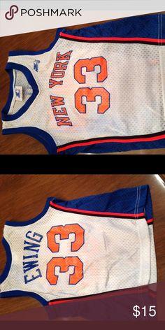 Kids jersey Starter Knicks basketball jersey. 33 Patrick Ewing. Starter Shirts & Tops Tank Tops