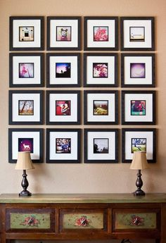 Fun Projects For The Spring With Instagram -  http://www.kevinhail.com/our-instagram-photo-wall/