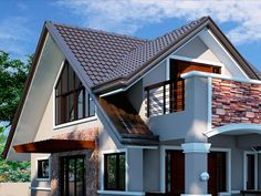 This home just oozes the true reflections of richness and quality & is just the perfect resting place for you. House Roof Design, Modern House Design, Home Design, Craftsman House Plans, Cabin Homes, Decorating Blogs, Living Room Interior, Luxury Living, My Dream Home