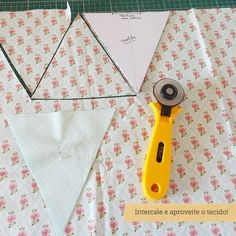 Sewing Hacks, Sewing Tutorials, Sewing Patterns, Fabric Crafts, Sewing Crafts, Vintage Bunting, Basic Embroidery Stitches, Fabric Garland, Garlands
