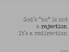 God is always there.