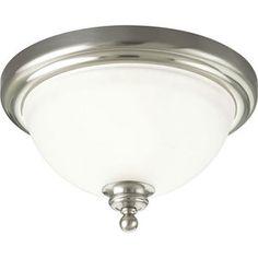 Progress PP331109 Madison Flush Mount Ceiling Light - Brushed Nickel