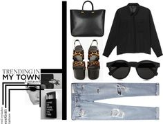 """""""trending in my town set1"""" by eldianna ❤ liked on Polyvore"""