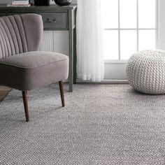 nuLOOM Handmade Flatweave Diamond Cotton Rug (8' x 10') | Overstock.com Shopping - The Best Deals on 7x9 - 10x14 Rugs