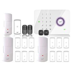 No Contract Wireless Alarm System is super easy to use, affordable, and stylish!  Complete DIY home security system on sale now for just $149!!!