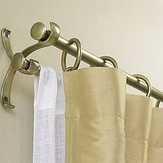 1000 Ideas About Double Curtain Rods On Pinterest