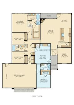 Residence 2 New Home Plan in Aliante by Lennar