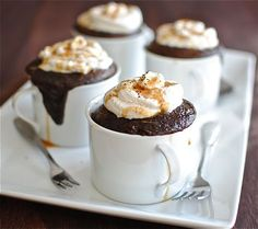 """""""Mo-Kahlua Mug Delights."""" I would love to bake this as a special treat for my coffee-loving friends :) (who will then share with me, of course.)"""