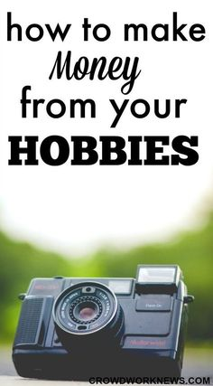 How to Make Money from Your Hobbies