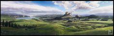 Fable- Albion landscape concept art