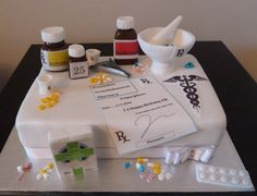 pharmacy cupcakes images | pharmacist birthday cake London