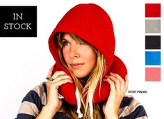 Travel HoodiePillow® - Hooded Travel Pillow | HoodiePillow® Brand Pillowcase and Hooded Travel Pillow.  Love this!