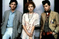 Of all the John Hughes teen movies released in the 1980s, Pretty in Pink is the one with the most clearly defined, cutting-edge sense of style.  The story of Andie (Molly Ringwald), a smart, stylish girl from the wrong side of the tracks, her quirky best friend Duckie (Jon Cryer), and the rich kid, Blane