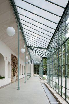 Le serre della Villa del Grumello . Como . 2011 . Brambilla Orsoni Architetti Associati . photo © Isabella Sassi Farìas