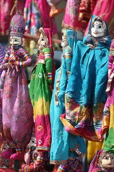 Marionnettes du Kerala