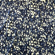 PA035 - 1m Blue Viscose Fabric w/ Dragon Scales Pattern - 160cm / 63  Wide JKs Fabrics Ebay