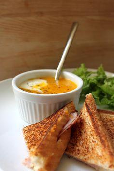 Cerise et Gourmandises: Soupe de Courge Butternut au Gingembre