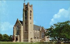 Williams Memorial Chapel, College of the Ozarks, Point Lookout, MO.  Chapel built by WW Johnson