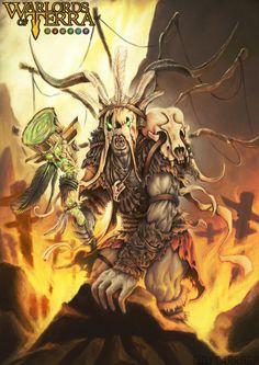 Gruuj Barahk - Warlords of Terra por eltargon - Personajes | Dibujando.net