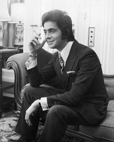 Italian fashion designer Valentino Garavani in London on November 4th, 1968.