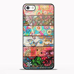 Paisley Planks Design GNO for iPhone 5/5s Black case