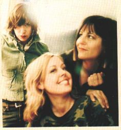 Carrie Brownstein, Janet Weiss, and Corin Tucker of Sleater-Kinney.  Love this photo!