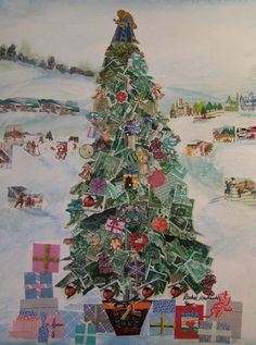 Seasonal/Celebrations - Rachel Markwick - Fine art & collage