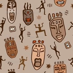 African Ethnic Pattern