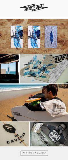 MANCAVE SURFBOARDS Branding on Behance | Fivestar Branding – Design and Branding Agency & Inspiration Gallery