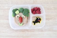 Healthy bento box food art for kids. Dog Treat Recipes, Healthy Dog Treats, Dog Food Recipes, Healthy Recipes, Family Recipes, Healthy Eats, Dessert Recipes, Tofu, Crockpot
