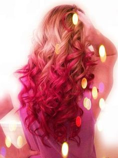 pink ombre hair. Check out this link http://ow.ly/okKac or contact Ms. Tonee Shaw! Call 909-578-8257 for appointments!
