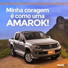 Forte, destemida e estilosa, assim é a nossa Amarok!  Conte pra gente qual carro representa a sua coragem para enfrentar aventuras!