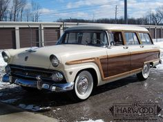 1955 Ford Country Squire Station Wagon for sale | Hemmings Motor News