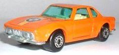 Matchbox BMW 3.0 CSI in orange