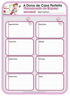 Ih, casei!: Planejando as tarefas domésticas!                                                                                                                                                     Mais