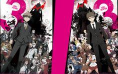Nuevas imágenes promocionales para las dos partes del Anime Danganronpa 3.