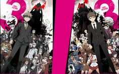 Danganronpa 3 future and despair arcs