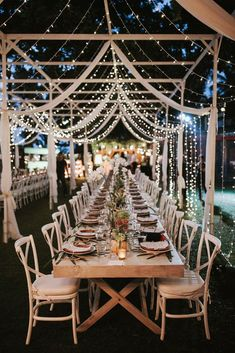 Wedding Planning Fairy Lights Incredible Outdoor Wedding Reception In Bali With Hanging Florals and Fairy Lights - Stylish Bali Wedding With A Fun Party Vibe With Bride In Lazaro And A Festoon Light Outdoor Reception With Images By James Frost Photography Outdoor Wedding Reception, Bali Wedding, Our Wedding, Dream Wedding, Trendy Wedding, Wedding Ceremony, Luxury Wedding, Wedding Receptions, Wedding Church