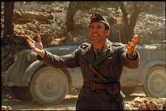 "Nicolas Cage's cheerful & happy-go-lucky style captured from ""Captain Corelli's Mandolin"" film"